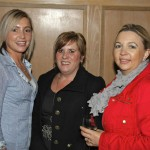 Stephanie Irvine, Cheryl Waring and Gena Francis