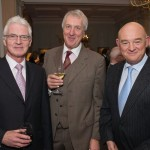 David Allen, Rt Hon Ian Wilson and Peter Dixon