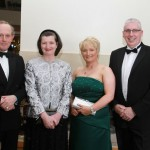 Viscount and Viscountess Brookeborough with  Orla and Eugene McCusker