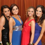 Sarah Wilson, Jessica McCaughey, Ellie Bowers and Rachel Drayne