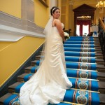 Jill on the Grand Staircase