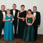 Madeline and Tom McLaughlin, Michael Rooney, Marguerite McGarry, Deirdre and Robert McAree.