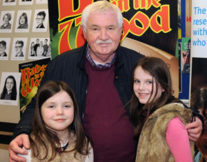 Kristen and Sophie Cushnie and John Kelly pictured at Lambeg Players hilarious family panto ÔBabes in the WoodÕ at Lagan Valley Island, Lisburn on Friday 6th January.
