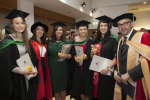 Catherine Hamilton, Dr Julieanne Little, Michaela Magee, Jemma Maclaine, Leah Gavin and Roger Anderson