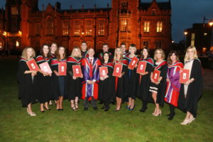 Horticulture graduates from Greenmount College