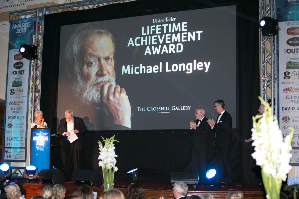 Lifetime Achievement Award - Poet Michael Longley