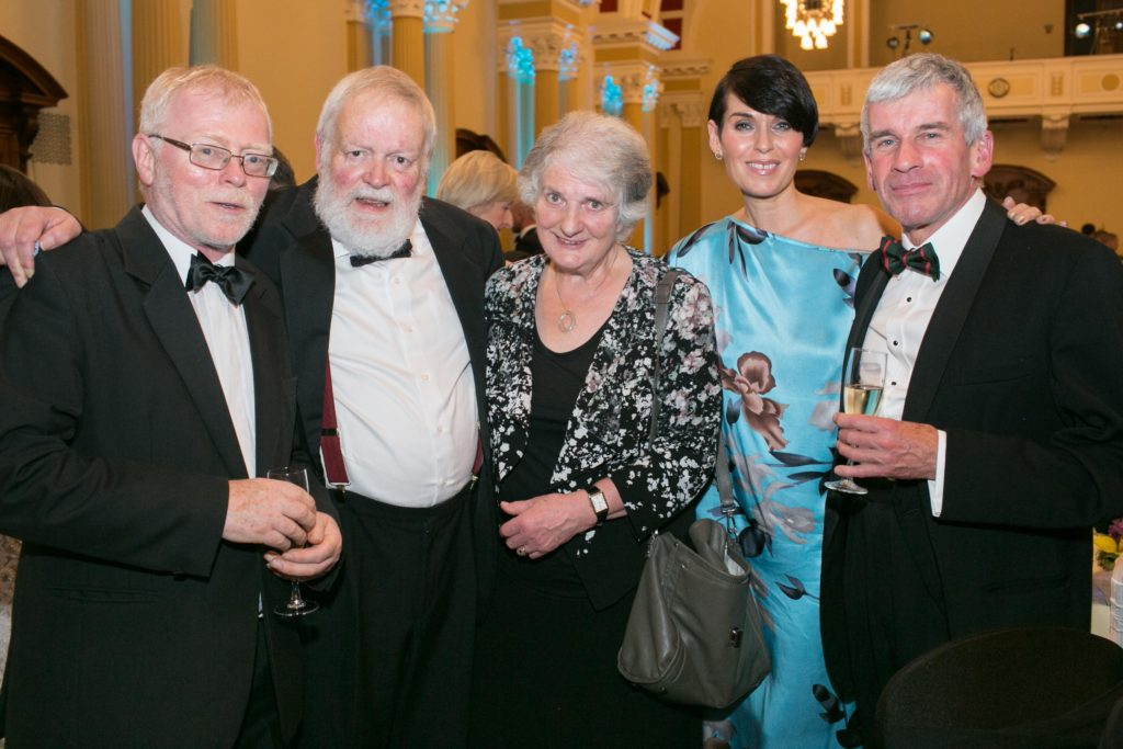 Frank Orsmby, Michael and Edna Longley, Nuala Meenahan and David Fitzpatrick