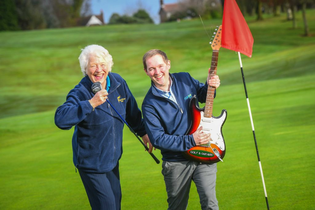 GREEN DAY: Dame Mary Peters and GolfNow's Andrew Hollywood are getting ready to rock and hole at the first ever 'Golf and Guitars' event which will take place at Holywood Golf Club on Friday May 19. Local golfers will be tuning up and teeing off against a mix of local and celebrity musicians at the unique charity event which has been created to raise money for the budding sports stars of tomorrow, via the Mary Peters Trust. With golf played during the day, followed by a live music gig in the evening, prices start at £35 for a round of golf or £45 for the full event including concert. Already stars like Brian McFadden and Keith Duffy from Boyzlife have confirmed their participation at the event, which is supported by GolfNow, Charles Hurst Group, Fonacab and Duffy Rafferty Communications. To find out more, book a tee-off time or purchase tickets for the live music gig, click on golfandguitars.co.uk or send an email to Paul Kelly at prckelly@googlemail.com.