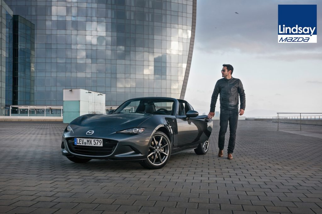 On 25 February, Lindsay Mazda in Lisburn will host an exclusive preview event of the all-new Mazda MX-5 RF (Retractable Fastback).