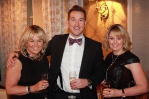 Sandra Corkin, Kris Turnbull and Wendy Corkin.
