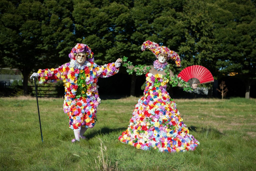 The Blooms with over 2000 flowers will make for a stunning sight