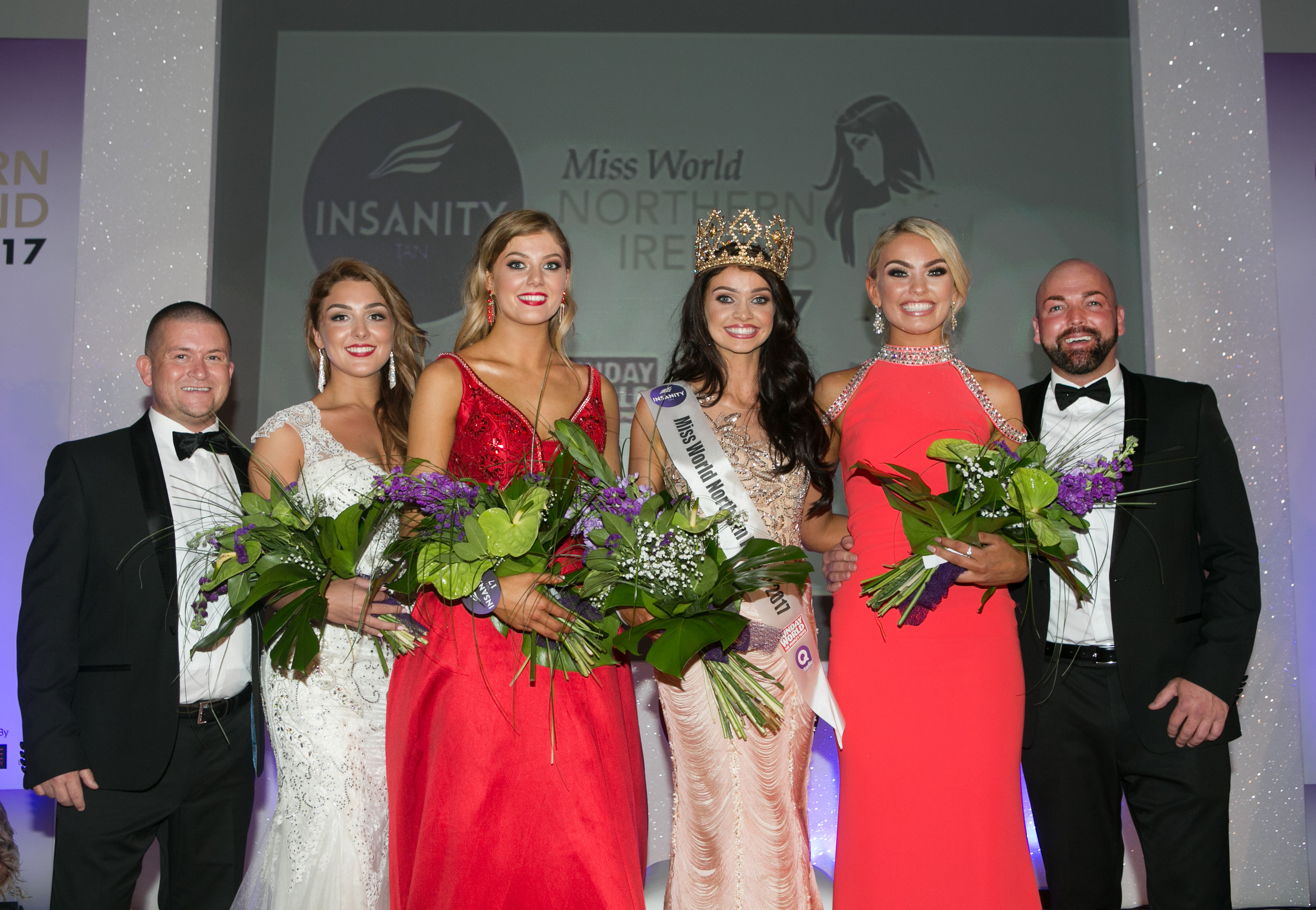 Miss Anchor Anna Henry is crowned 2017 Insanity Tan Miss Northern Ireland.