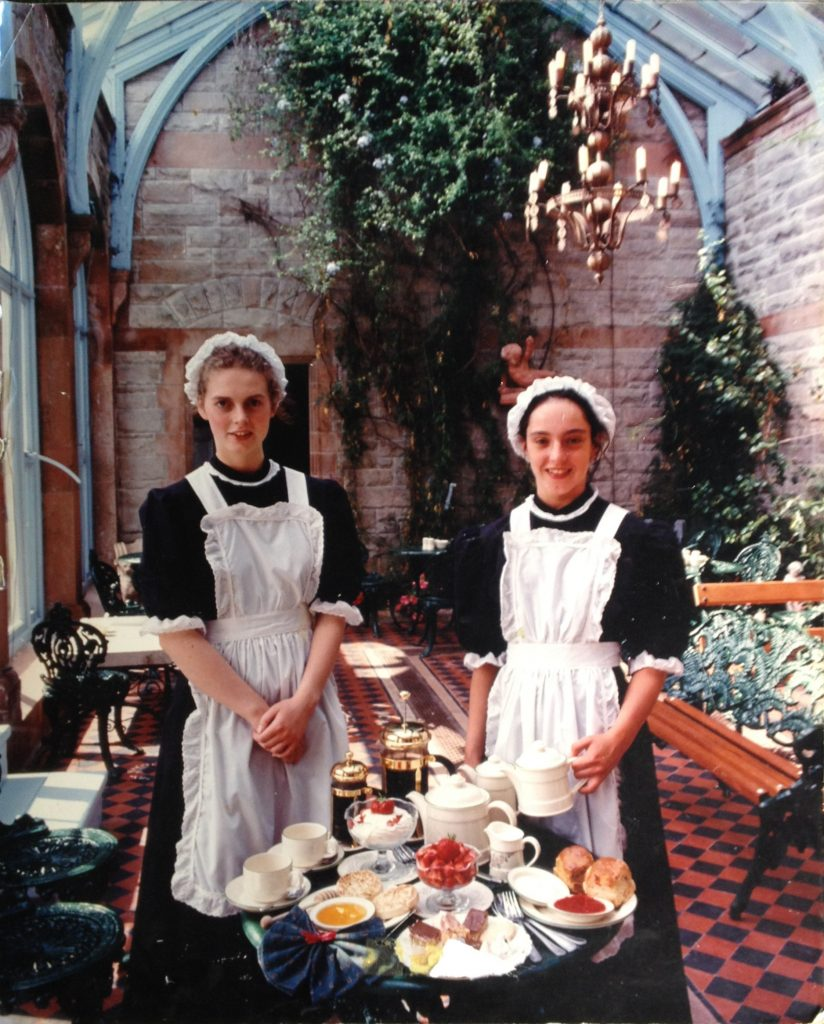 Tea Rooms Staff Members.