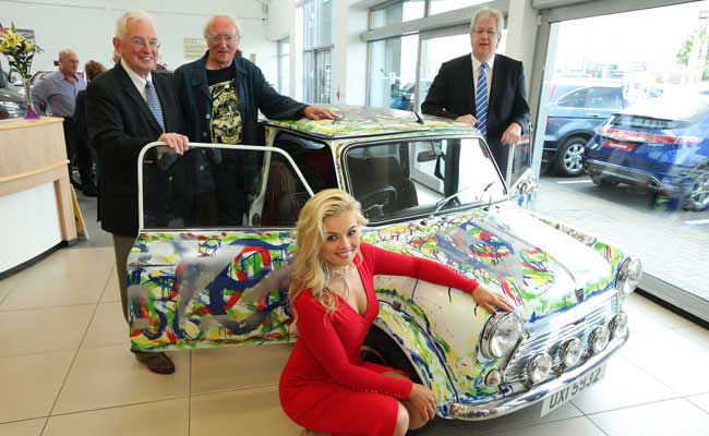 Cars Northern Ireland Used Cars Ni Second Hand Cars For: Art Car Unveiled At Donnelly Group Showroom
