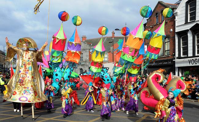 St Patrick S Day In Downpatrick Ulster Tatler