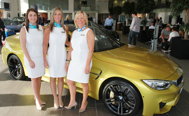 Launch Of The Bmw M Series Ulster Tatler